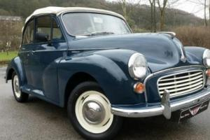 1968 Morris Minor FACTORY Convertible, very clean & tidy example,