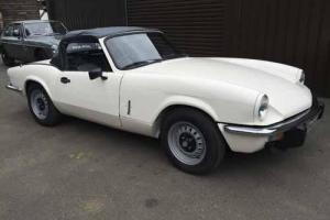 TRIUMPH SPITFIRE 1500 WHITE Photo