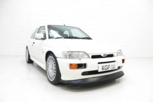 A Breathtaking Large Turbo Ford Escort RS Cosworth Luxury with 16,805 Miles for Sale