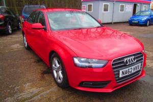 2012 62 AUDI A4 2.0 TDI SE 4D 134 BHP DIESEL Photo