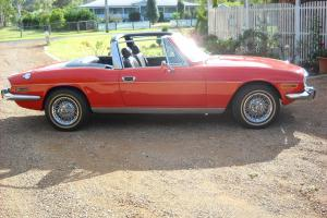 EX Slim Dusty Triumph Stag in QLD