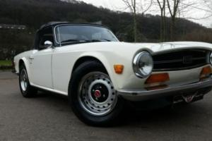 1973 Triumph TR6, stunning all rounder, Overdrive, leather, Walnut dash,