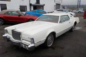1975 LINCOLN CONTINENTAL MK4 LIP STICK EDITION 460 CI AUTO 48,000 MILES