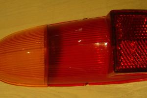 Morris 1100 CAR Tail Light Lens NEW OLD Stock Approx 1960s Restorer' CAR Part