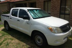 Toyota Hilux Double CAB SR 4 0 NO Reserve in NSW