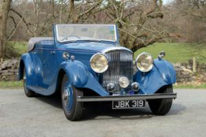 1936 Bentley 4 1/4 4dr All-weather Tourer by Steve Penny B101HM