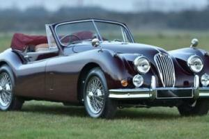 1955 Jaguar XK140 SE DHC Photo