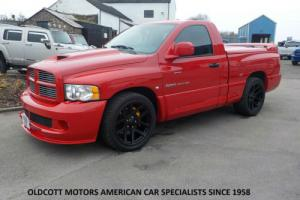 2004 DODGE RAM SRT10 VIPER REGULAR CAB 8.3 LITRE V10 6 SPEED MANUAL PICKUP