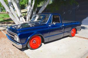 1968 Chevrolet C10 Short BED Pickup 350CI 700R Auto AIR Ride MOB Steel 20'S in QLD