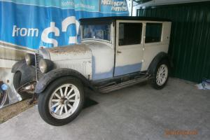 1927 Essex TWO Door Coach