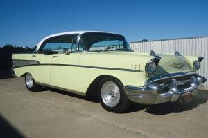 1957 Chevrolet 4 Door Pillarless Sedan Tough 383 V8 Centreline Wheels in SA