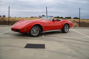 Chevrolet Corvette 1975 Convertible Rare Read THE Info in VIC