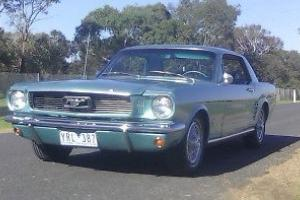 66 Mustang Coupe 6 Cylinder Very Clean in VIC