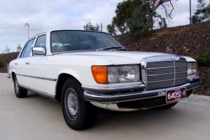 1978 Mercedes Benz 280SEL Cruiser Tidy CAR Club Rego in VIC
