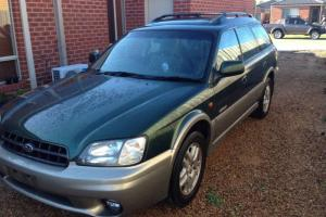 Subaru Outback Luxury 2000 4D Wagon Manual 2 5L Multi Point F INJ 5 Seats