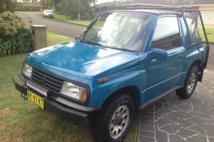 Suzuki Vitara JLX 4x4 1990 2D Softtop Manual 1 6L Carb Seats in NSW