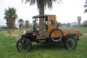 "Model T Ford 1914 Original "" Woody Pick UP "" 100 Year Still Running"