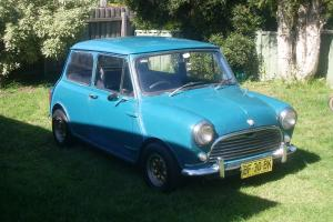 1970 Morris Mini K1100 in VIC