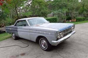 1964 Mercury Comet Caliente 2 Door Fastback K Code Running 289 WC4 Rust Free XP
