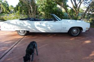 "Convertible 1970 Oldsmobile ""98"" in NSW"