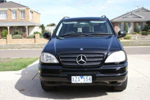 Mercedes Benz ML 430 4x4 1999 4D Wagon Automatic 4 3L Multi Point in VIC