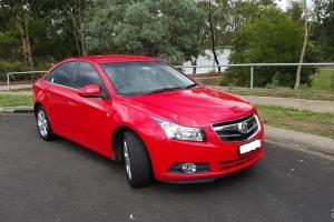 Holden Cruze CDX 2009 4D Sedan Automatic 1 8L Multi Point F INJ 5 Seats