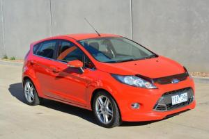 Ford Fiesta Zetec 2011 5D Hatchback Automat 1 6L Multi Point F INJ 5 Seats in VIC