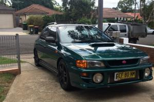 Subaru Impreza WRX AWD 1998 5D Hatchback Manual 2L Turbo Mpfi Seats in NSW