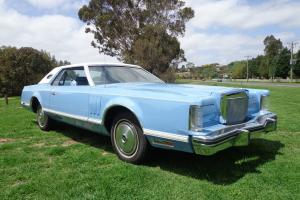 1978 Ford Lincoln MK 5 Continental Coupe V8 Auto in VIC