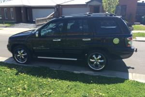 Jeep Grand Cherokee Limited 4x4 2005 4D Wagon Automatic 4 7L Multi in VIC