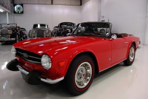 1974 TRIUMPH TR-6 CONVERTIBLE, ONLY 45,974 ORIGINAL MILES, AM/FM STEREO, MP3!