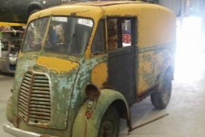 Morris J VAN Rough Very Rusty Some Spares Great Project in VIC