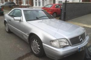 Mercedes-Benz 3.2 auto SL320 edition silver hardtop black leather