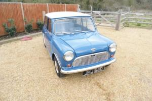 1966 Austin Mini in Island Blue