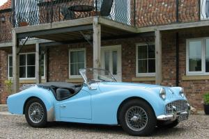 TRIUMPH TR3A 1961, JUST 5557 MILES FROM NEW, TIMEWARP RESTORATION - SUPERB