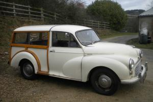 MORRIS MINOR TRAVELLER TURBO DIESEL. TAX EXEMPT