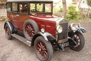 Wolseley 12/34 HP E4M  Photo