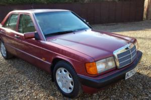 K Reg 1992 Mercedes-Benz 190 2.0 auto E 78000Miles Leather