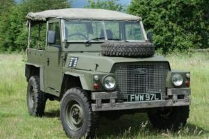Land Rover Lightweight 200 TDI Soft Top