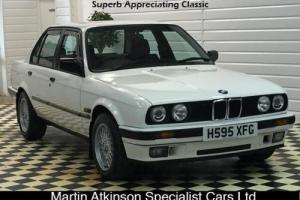 1990 BMW E30 320i Auto 4dr in Alpine White only 77k, Appreciating Classic