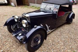 1934 Aston Martin 1 1/2 Litre Long Chassis Tourer. Photo