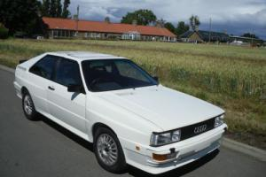 1983 AUDI QUATTRO UR RHD WHITE Photo