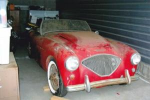 Austin Healey 1954 100/4 , fantastic project very solid and complete, don't miss