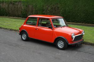 1984 AUSTIN MINI MAYFAIR RED ONE OWNER WITH SUPER LOW MILES ....FROM HCC
