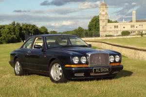 1992 BENTLEY CONTINENTAL R TURBO 2-DOOR COUPE PEACOCK BLUE EXCELLENT CONDITION Photo