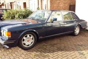 CLASSIC 1991 BENTLEY TURBO R BLUE 102,000 MILES