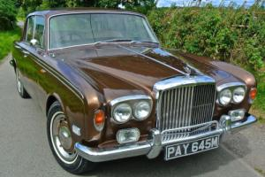 1973 BENTLEY T1 SALOON History from new !