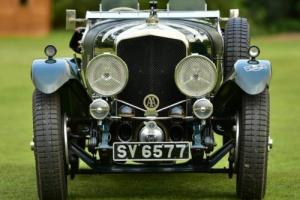 1928 Bentley Speed Six Vanden Plas Replica.