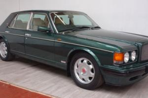1996 BENTLEY TURBO R AUTO GREEN