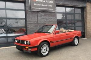 BMW E30 325i Convertible, 60,000 miles - SORRY, NOW SOLD!